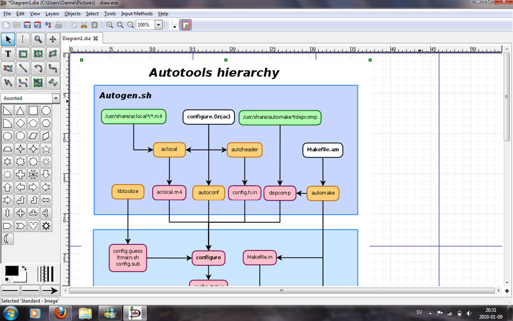 January 2010 syntax 30 microsoft visio has long been the standard for drawing flow charts and other diagrams however things have changed rapidly and now the open source ccuart Images