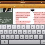 Copy and paste in Apple Pages for Ipad