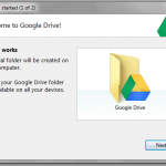 Google Drive installation in Windows 7