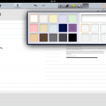Notability Different backgrounds for pages