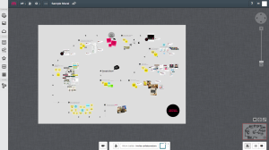 Mural.ly visual collaboration and mind-mapping tool